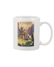 NORWAY VINTAGE TRAVEL 1905 Mug tile