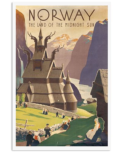 NORWAY VINTAGE TRAVEL 1905