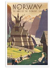 NORWAY VINTAGE TRAVEL 1905 11x17 Poster front