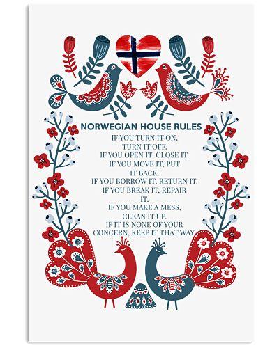 NORWEGIAN HOUSE RULES