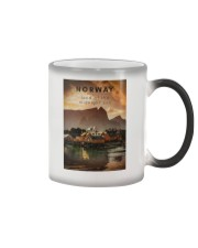 NORWAY LAND OF THE MIDNIGHT SUN Color Changing Mug thumbnail