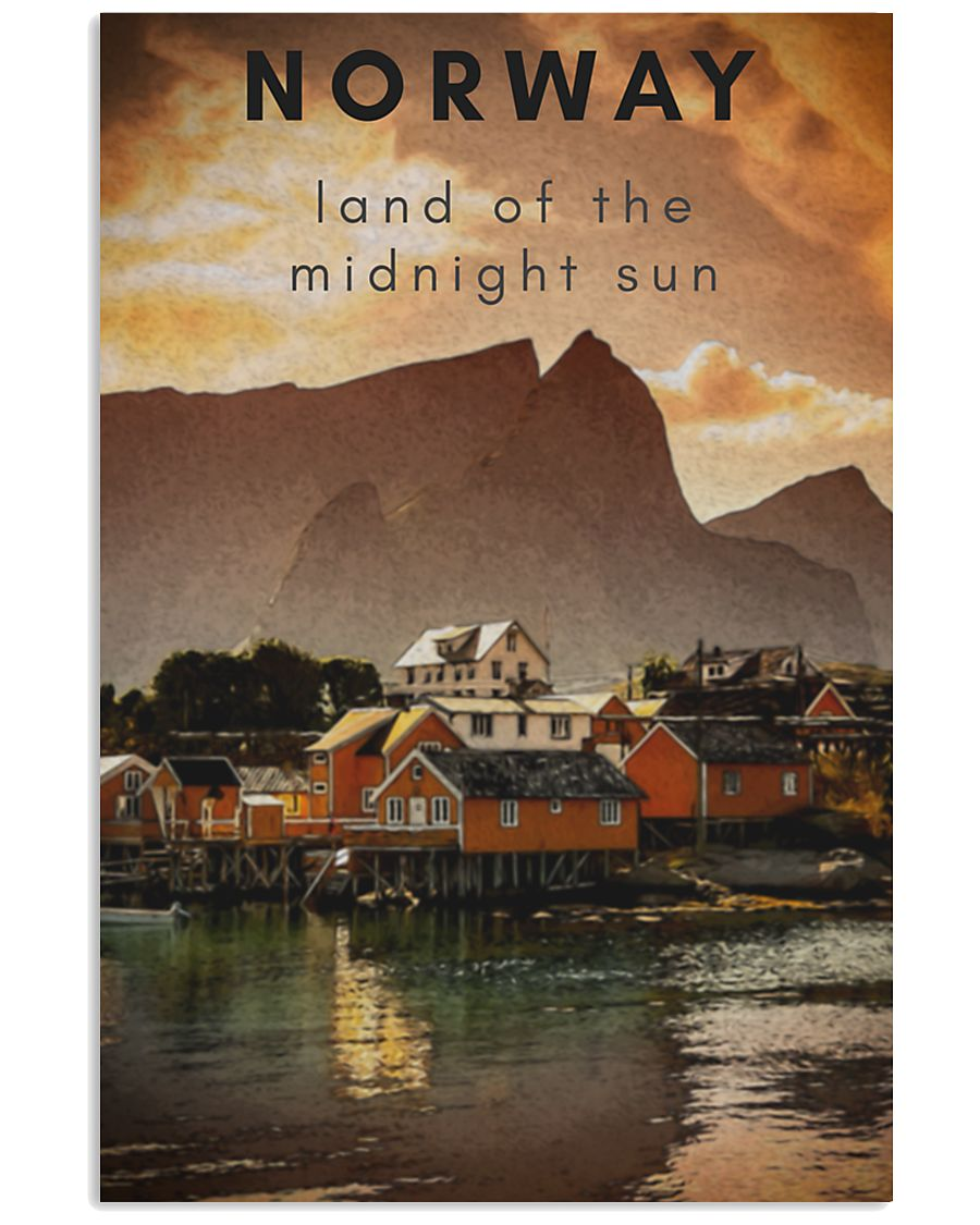 NORWAY LAND OF THE MIDNIGHT SUN 11x17 Poster