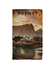 NORWAY LAND OF THE MIDNIGHT SUN Hand Towel thumbnail