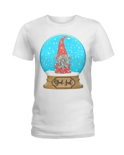 GOD JUL NISSE BALL Ladies T-Shirt thumbnail
