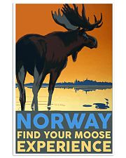 NORWAY MOOSE VINTAGE TRAVEL 11x17 Poster front