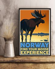 NORWAY MOOSE VINTAGE TRAVEL 11x17 Poster lifestyle-poster-3