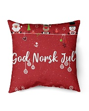 "GOD NORSK JUL Indoor Pillow - 16"" x 16"" front"