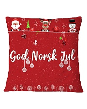 GOD NORSK JUL Square Pillowcase thumbnail
