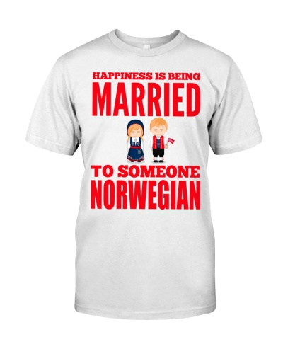 HAPPINESS IS BEING MARRIED TO NORWEGIAN