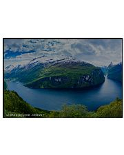 GEIRANGER FJORD 17x11 Poster front