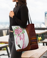 Flamingo Lady All-over Tote aos-all-over-tote-lifestyle-front-04