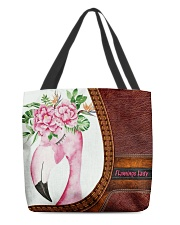 Flamingo Lady All-over Tote back