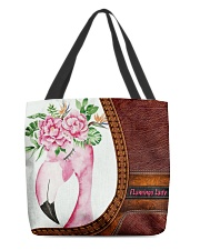 Flamingo Lady All-over Tote front