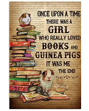 Girl Loved Books And Guinea Pigs 11x17 Poster front