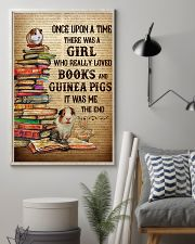 Girl Loved Books And Guinea Pigs 11x17 Poster lifestyle-poster-1