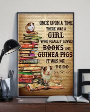 Girl Loved Books And Guinea Pigs 11x17 Poster lifestyle-poster-2
