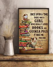 Girl Loved Books And Guinea Pigs 11x17 Poster lifestyle-poster-3