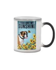 YOU ARE MY SUNSHINE Boxer Color Changing Mug tile