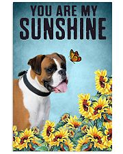 YOU ARE MY SUNSHINE Boxer Vertical Poster tile