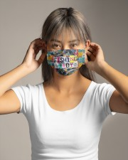 Fishing lady Cloth face mask aos-face-mask-lifestyle-16