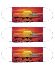 Sunset Cruise Cloth Face Mask - 3 Pack front