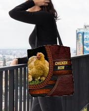 Chicken MOM All-over Tote aos-all-over-tote-lifestyle-front-05