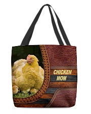 Chicken MOM All-over Tote back