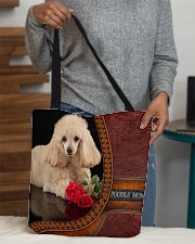 MY POODLE All-over Tote aos-all-over-tote-lifestyle-front-10