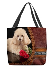 MY POODLE All-over Tote back