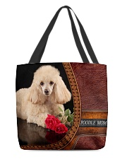 MY POODLE All-over Tote front