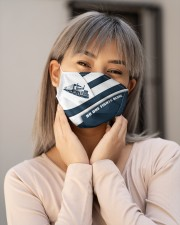 Truck Driver Cloth face mask aos-face-mask-lifestyle-17