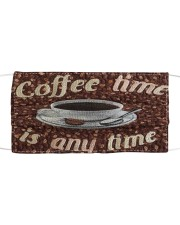Coffee 10011 Cloth face mask front