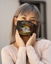 Retirement plan-Orders SHIP WITHIN 3 TO 5 DAY Cloth Face Mask - 3 Pack aos-face-mask-lifestyle-17