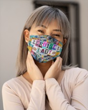 Cruise lady -Orders SHIP WITHIN 3 TO 5 DAY Cloth Face Mask - 3 Pack aos-face-mask-lifestyle-17