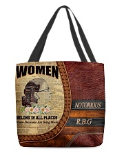 R-B-G 39 All-over Tote front