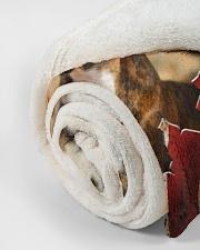 "BOXER LOVER Small Fleece Blanket - 30"" x 40"" aos-coral-fleece-blanket-30x40-lifestyle-front-18"