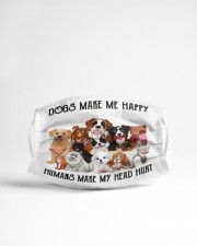 My dogs 1002 Cloth face mask aos-face-mask-lifestyle-22