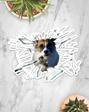 Jack Russell Terrier Sticker - 2 pack (Horizontal) aos-sticker-2-pack-horizontal-lifestyle-front-06
