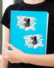 Jack Russell Terrier Sticker - 2 pack (Horizontal) aos-sticker-2-pack-horizontal-lifestyle-front-11