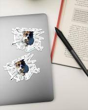 Jack Russell Terrier Sticker - 2 pack (Horizontal) aos-sticker-2-pack-horizontal-lifestyle-front-19a