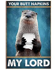 Otter Picture 11x17 Poster front