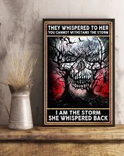 I AM THE STORRM POSTER 1002 24x36 Poster lifestyle-poster-3