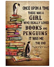 Girl Loved Penguins And Books 11x17 Poster front
