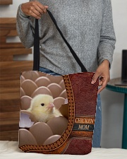 Chicken MOM 2 All-over Tote aos-all-over-tote-lifestyle-front-10