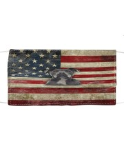 My Pitbull- America Cloth face mask front