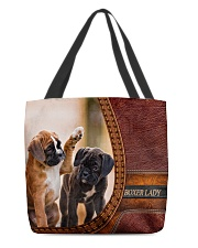 BOXER LADY All-over Tote front