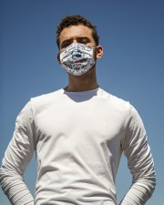 Bus Driver -Call me mom Cloth face mask aos-face-mask-lifestyle-11