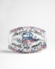 Bus Driver -Call me mom Cloth face mask aos-face-mask-lifestyle-22