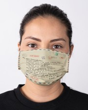 To My Daughter Cloth face mask aos-face-mask-lifestyle-01