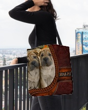 SHAR PEI 2 All-over Tote aos-all-over-tote-lifestyle-front-05